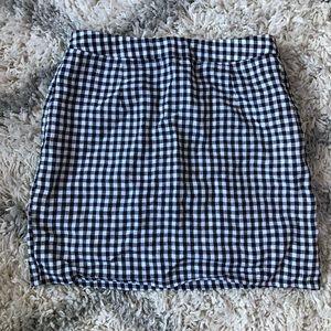 Forever 21 size medium gingham skirt